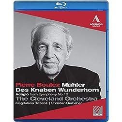 Mahler: Des Knaben Wunderhorn / Adagio From Symphony 10 [Blu-ray]