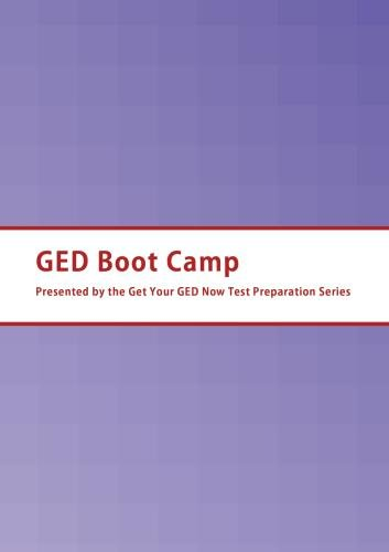 GED Boot Camp