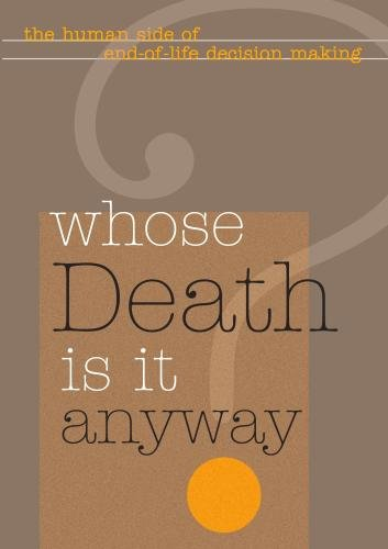 Whose Death Is It Anyway? (Non-Profit)