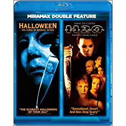 Halloween: The Curse of Michael Myers / Halloween H20: Twenty Years Later (Miramax Double Feature) [Blu-ray]