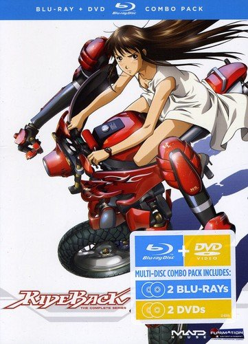 Rideback: Complete Series DVD/Blu-ray Combo