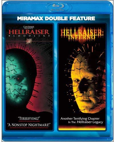 Hellraiser: Bloodline / Hellraiser: Inferno (Miramax Double Feature) [Blu-ray]