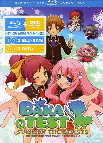 Baka & Test: Summon the Beasts Season One (DVD/Blu-ray Combo)