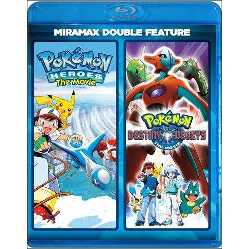Pokémon Heroes / Pokémon: Destiny Deoxys (Miramax Double Feature) [Blu-ray]