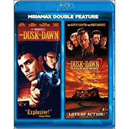 From Dusk till Dawn / From Dusk till Dawn 2: Texas Blood Money (Miramax Double Feature) [Blu-ray]
