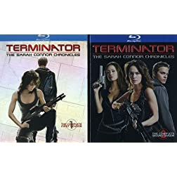 Terminator: Sarah Connor Chronicles - Seasons 1&2 [Blu-ray]