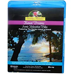 Serenity Moments: Kauai Dreams Scenic Relaxation [BLU-RAY Disc]