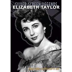 Silver Screen Legends: Elizabeth Taylor (4 Disc Set)