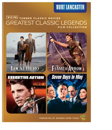 TCM Greatest Classic Legends Film Collection: Burt Lancaster (Local Hero / The Flame and the Arrow / Executive Action / Seven Days in May)