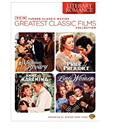 TCM Greatest Classic Films Collection: Literary Romance (Little Women / Pride and Prejudice / Madame Bovary / Anna Karenina)