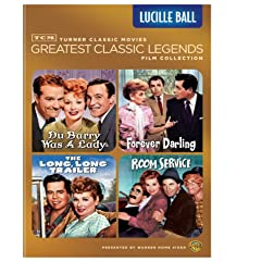TCM Greatest Classic Legends Film Collection: Lucille Ball (The Long, Long Trailer / Forever Darling / Room Service / Du Barry Was a Lady)