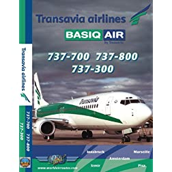 Transavia Boeing 737-300, 737-700 & 737-800