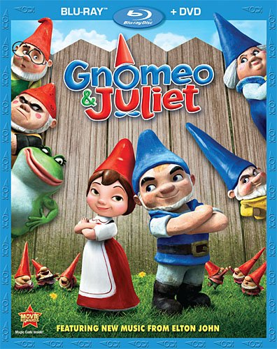 Gnomeo & Juliet [Blu-ray]