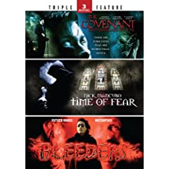 The Covenant: Brotherhood of Evil / Time of Fear / Hemoglobin - Triple Feature