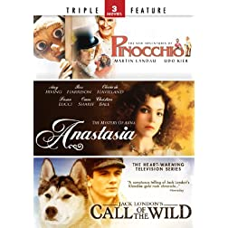 Pinocchio / Anastasia / Call of the Wild - Triple Feature
