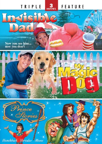 Invisible Dad / My Magic Dog / Prince Stories - Triple Feature