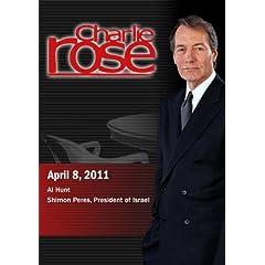 Charlie Rose - Al Hunt / Shimon Peres, President of Israel (April 8, 2011)