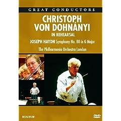 Christoph von Dohnanyi - In Rehearsal