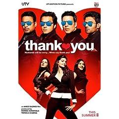 Thank You (2011) (New Hindi Comedy Film / Bollywood Movie / Indian Cinema DVD)
