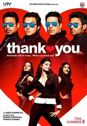 Thank You (2011) (New Hindi Comedy Film / Bollywood Movie / Indian Cinema DVD)