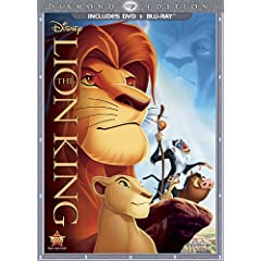 The Lion King (Two-Disc Diamond Edition Blu-ray / DVD Combo in DVD Packaging)