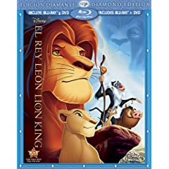 The Lion King (Two-Disc Diamond Edition Blu-ray / DVD Combo in Blu-ray Packaging) (Spanish Edition)