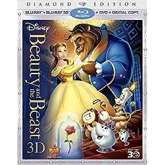 Beauty and the Beast (Five Disc Combo: Blu-ray 3D / Blu-ray / DVD / Digital Copy)