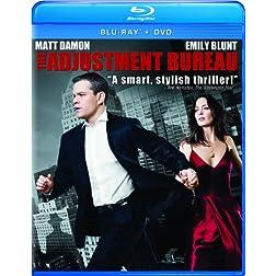 The Adjustment Bureau [Blu-ray/DVD Combo + Digital Copy]