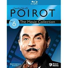 Poirot Movie Collection Set 6 [Blu-ray]