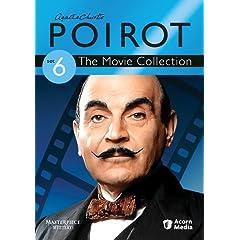 Agatha Christie's Poirot Movie Collection Set 6