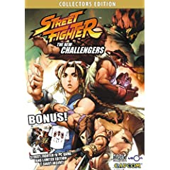 Street Fighter: The New Challengers DVD + Street Fighter IV PC Game + Ryu T-shirt COLLECTORS EDITION