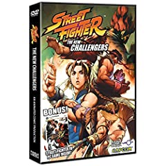 Street Fighter: The New Challengers DVD + Street Fighter IV PC Game bundle