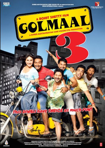 Golmaal 3 [Blu-ray] (New Hindi Comedy Film / Bollywood Movie / Indian Cinema)