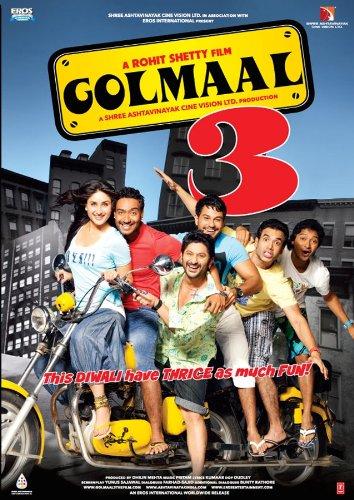 Golmaal 3 [Blu-ray] (New Hindi Comedy Film / Bollywood Movie / Indian Cinema)