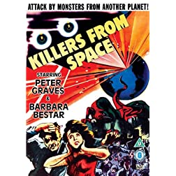 Killers From Space (UK PAL Region 0)