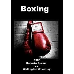 1980 Roberto Duran vs Wellington Wheatley - Boxing