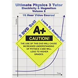 Ultimate Physics 3 Tutor - Electricity and Magnetism Series - Volume 2 - 3 DVDs - 10 Hours!