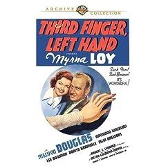 Third Finger; Left Hand