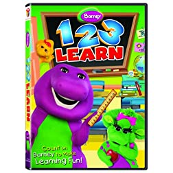 Barney: 1 2 3 Learn