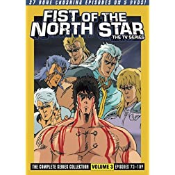 Fist of the North Star: The Complete Series Collection, Vol. 3