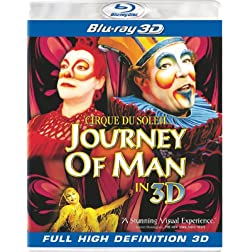 Cirque du Soleil: Journey of a Man [Blu-ray 3D]