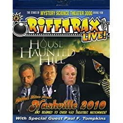 Rifftrax: LIVE! House On Haunted Hill [Blu-ray]