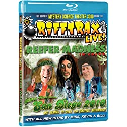 Rifftrax: LIVE! Reefer Madness [Blu-ray]