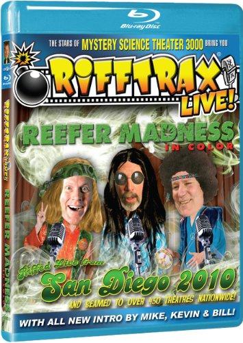 Rifftrax: LIVE! Reefer Madness [Blu-ray]