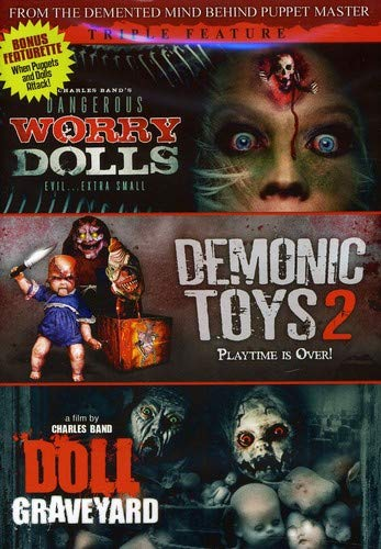 Deadly Dolls Triple Feature with Bonus