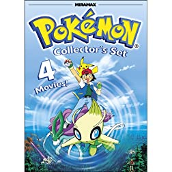 Pokemon Collector's Set: Pokemon Heroes / Pokemon 4Ever / Pokemon: Destiny Deoxys / Pokemon Jirachi: Wish Maker