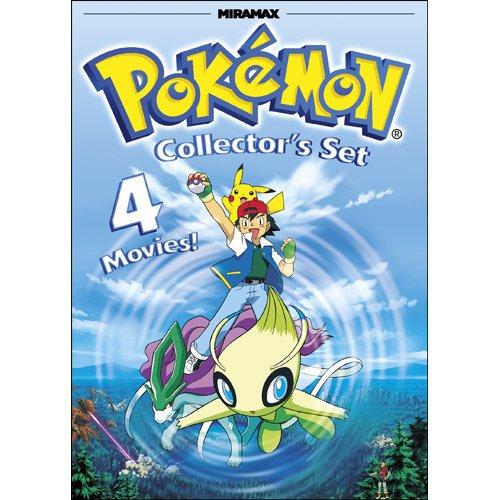 Pokemon Collector's Set: Pokemon Heroes / Pokemon 4Ever / Pokemon: Destiny Deoxys / Pokemon Jirachi: Wish Maker