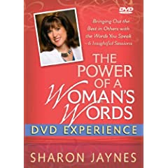 The Power of a Woman's Words DVD Experience