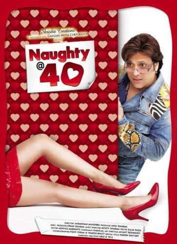Naughty @ 40 (2011) (Adult Comedy / Hindi Film / Bollywood Movie / Indian Cinema DVD)