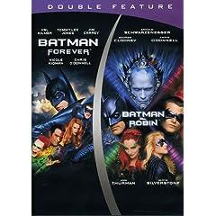 Batman Forever & Batman & Robin